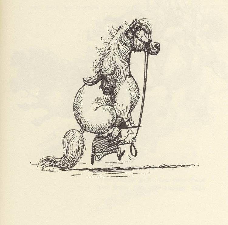 прикол рисунки лошадей жанр