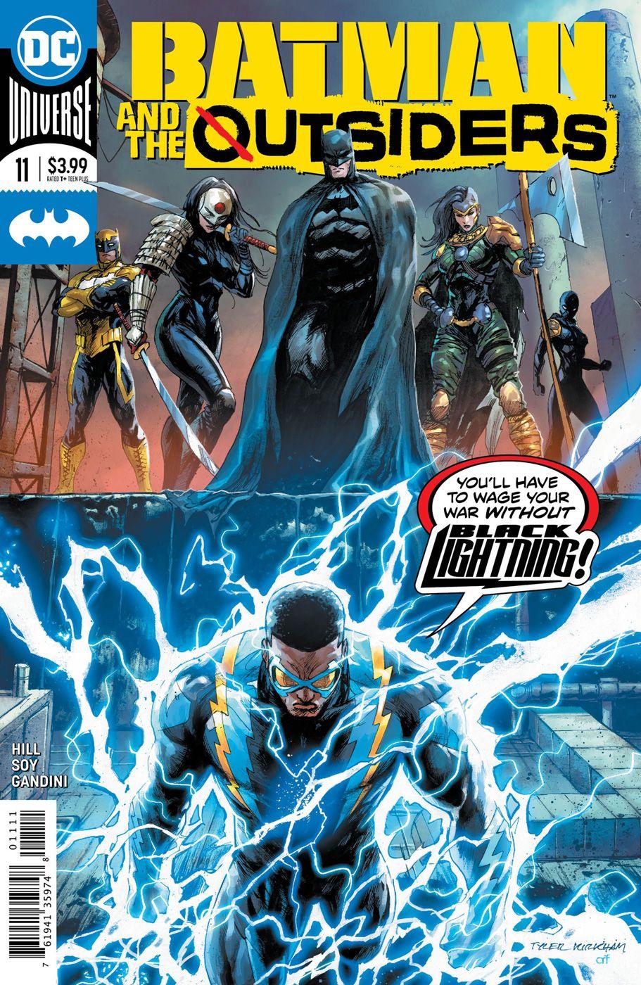 Batman And The Outsiders 11 The Outsiders Dc Comics Comics