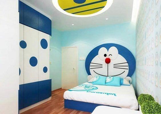 cute doraemon room wall wallpapers in 2020 wall on wall stickers stiker kamar tidur remaja id=12538