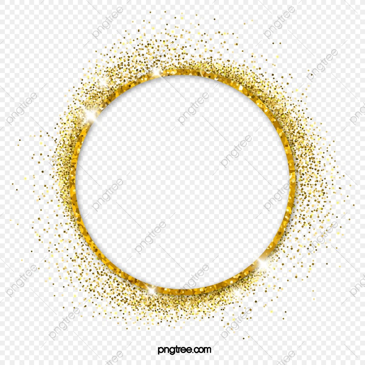 Golden Flash Circle Decoration Golden Golden Flash Flash Of Light Png And Vector With Transparent Background For Free Download Golden Circle Circle Frames Fire Image