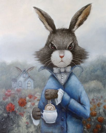 The March Hare By Liese Chavez Alice In Wonderland
