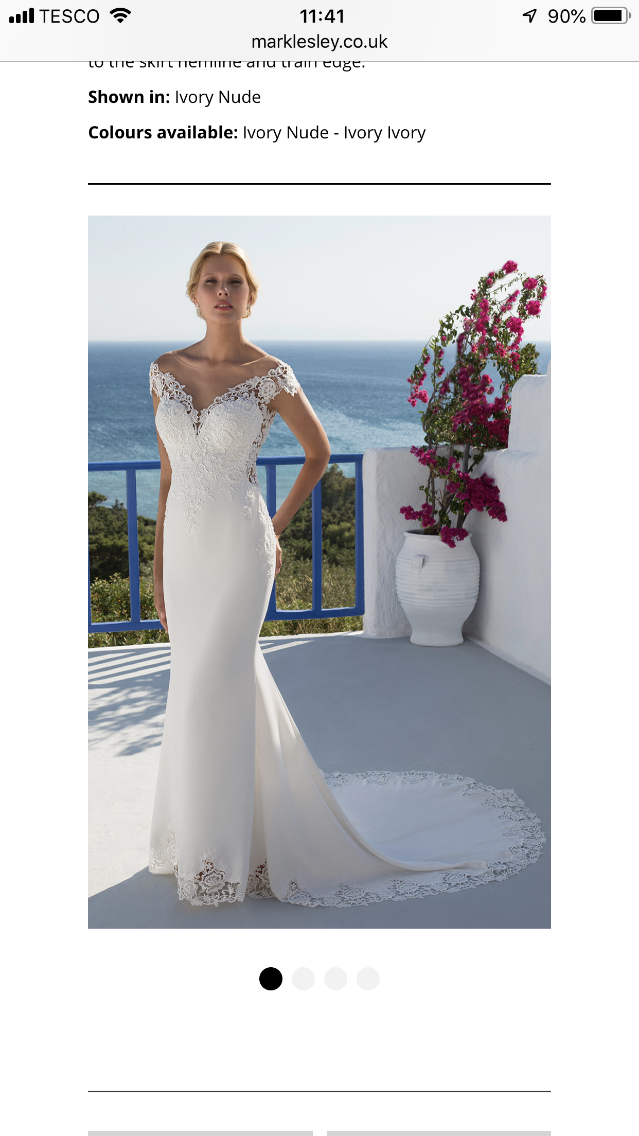 Mark Lesley Designer Gown Sell My Wedding Dress 1200 00 In