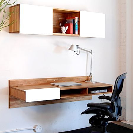 WAll Mounted Desk By LAX MASH Studios Furniture