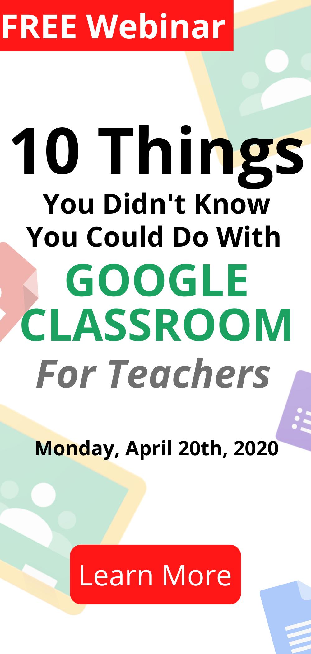 Free Google Classroom Training For Teachers Google Classroom Classroom Training Online Classroom