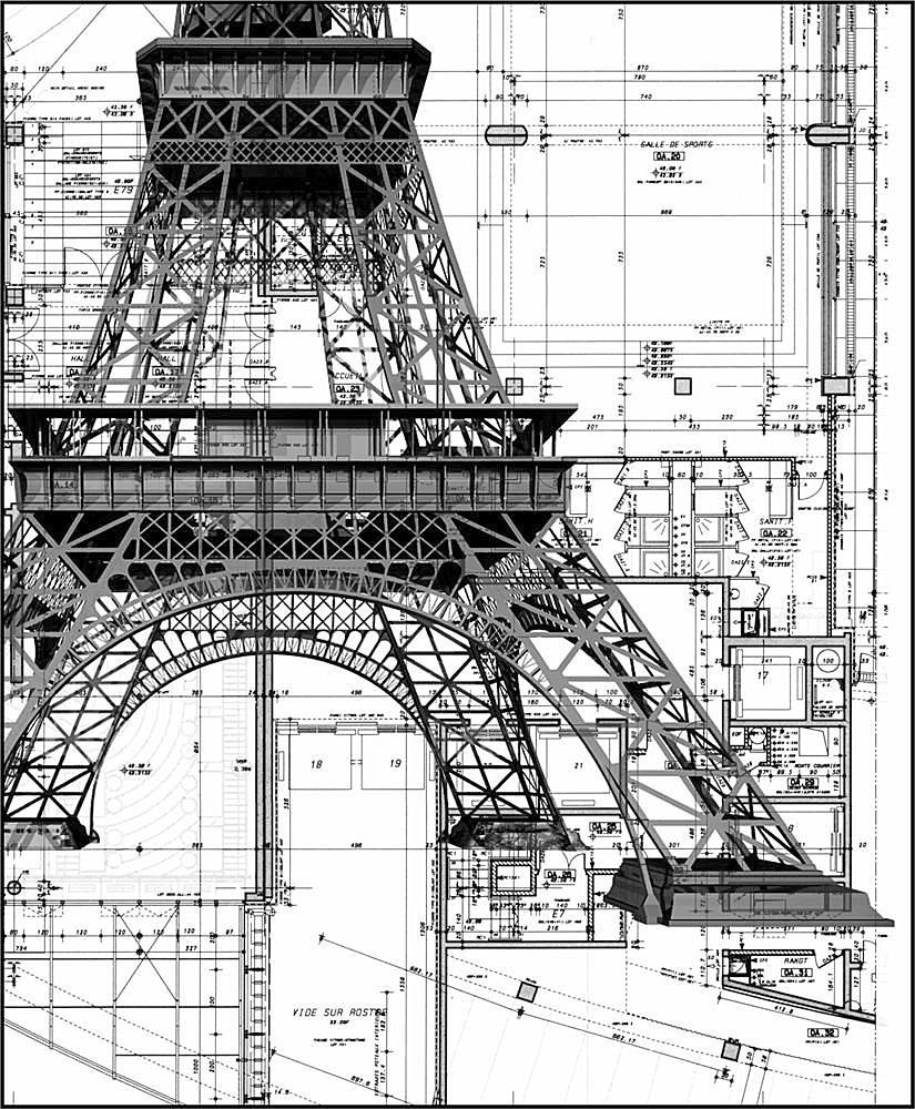 Eiffel tower layout imagine the complexity build something eiffel tower layout imagine the complexity malvernweather Gallery