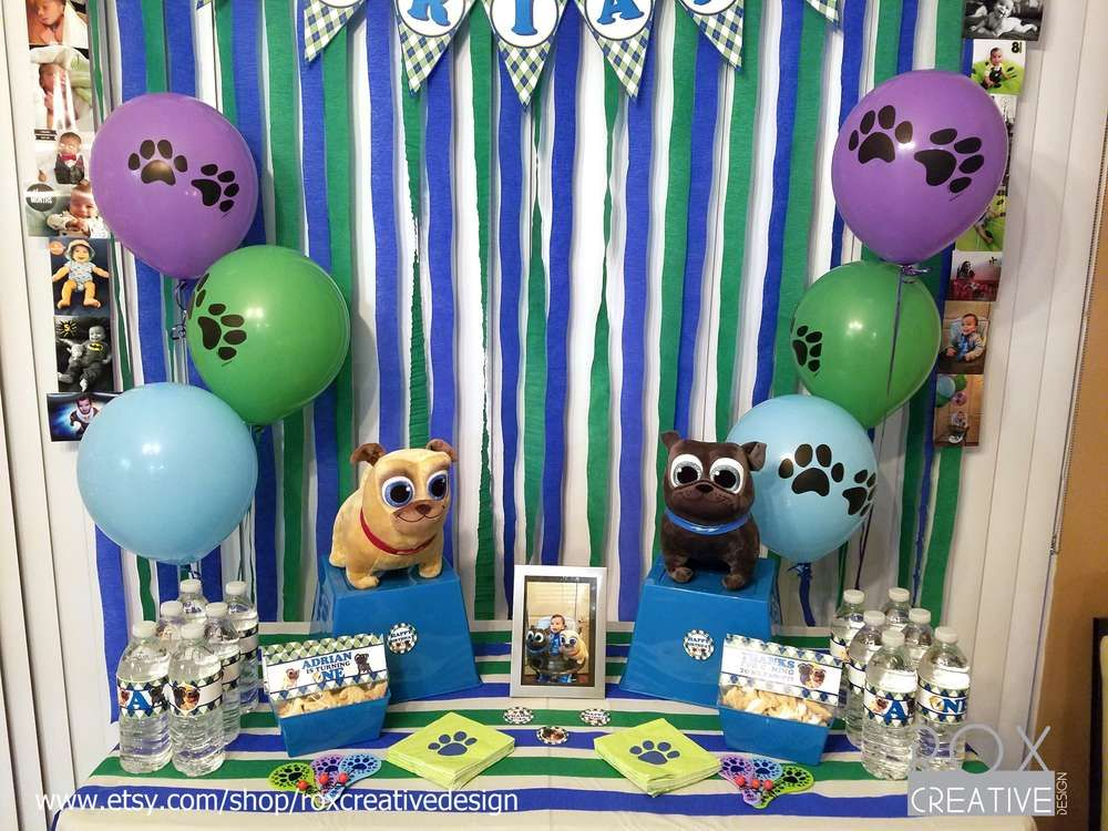 Puppy Dog Pals Birthday Party Ideas Puppy Birthday Parties
