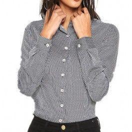 d395f4fc2 Camisa Dudalina Feminina | Dudalina | Jackets, Fashion e Coat