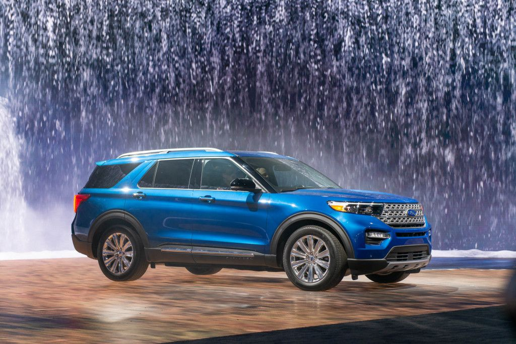 2020 Ford Explorer fights punctures with selfsealing