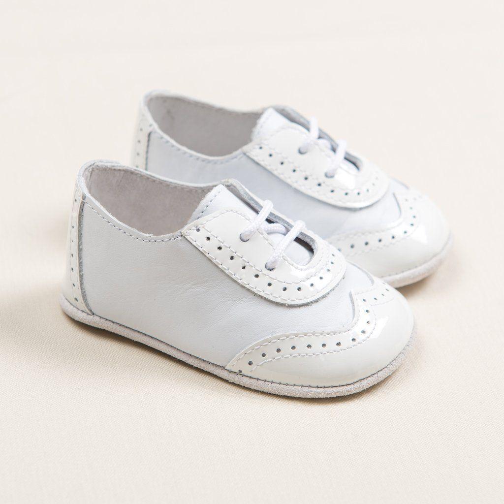 Boys White On White Wingtip Shoes Boys White Shoes Christening Shoes Boys Christening Suit [ 1024 x 1024 Pixel ]