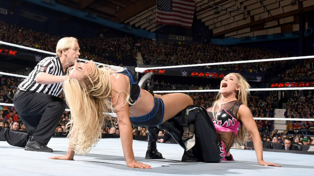 Image result for natalya vs charlotte payback