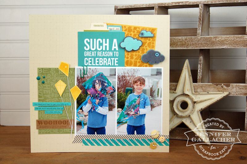 Jen Gallacher Inspiration Station Sneak Peek Reason to Celebrate