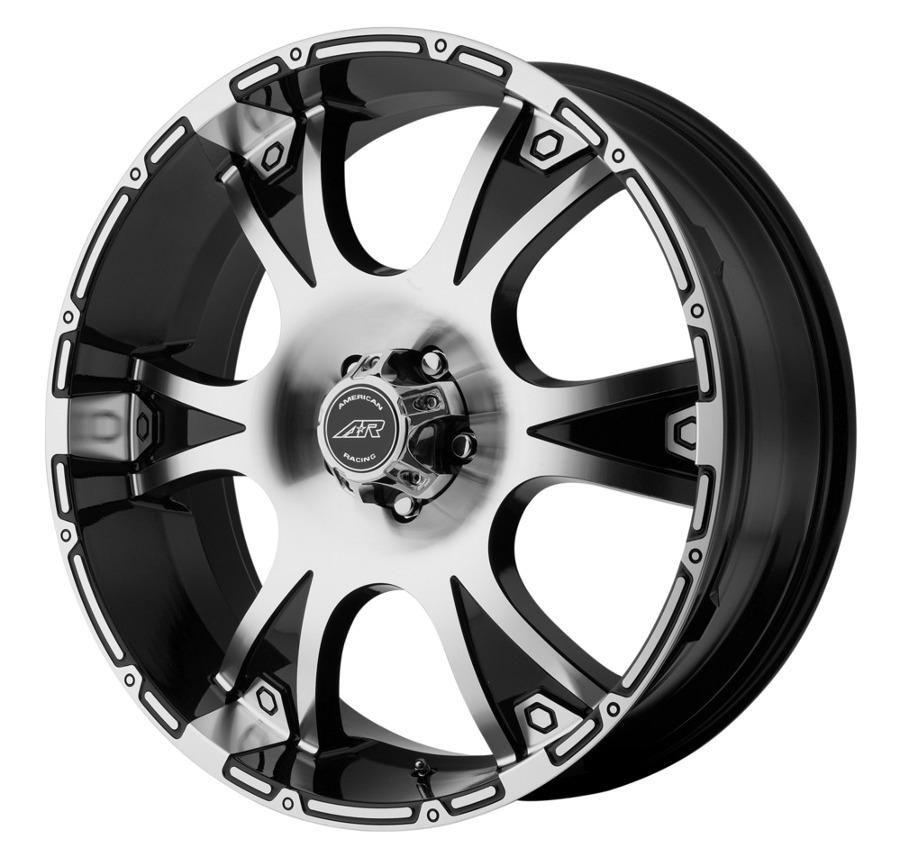'Dagger' Machined Black Wheel by American Racing Ryms