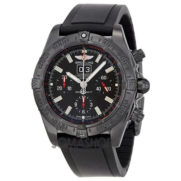 Breitling Windrider Blackbird Automatic Chronograph Mens Watch M4435911-BA27BKPD