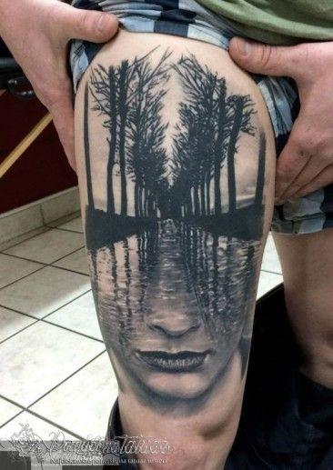 Tatuaż Surrealistyczny 17 Tatuaże Tatuaże Męskie