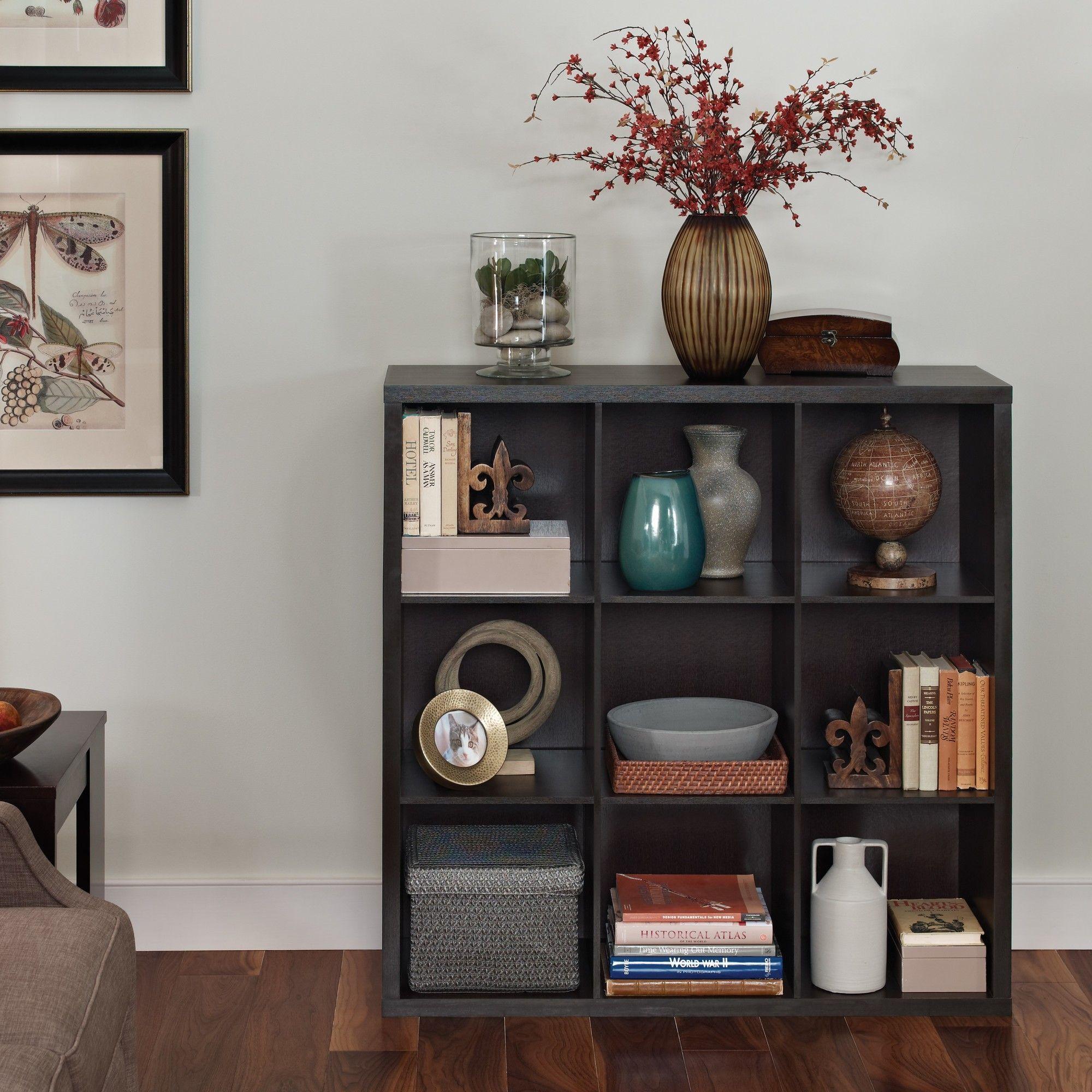 ClosetMaid Decorative Storage 9 Cube Organizer U0026 Reviews | Wayfair
