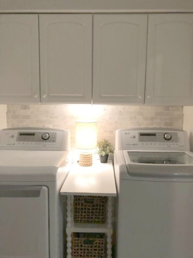 Photo of Before/After DIY Laundry Room Simple Makeover – Hello Lovely
