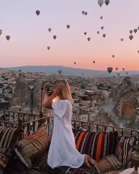 Magical Hot Air Balloons in Cappadocia, Turkey