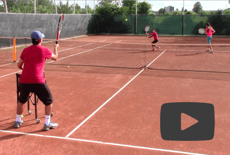 Tennis Drills For Intermediate Level Players Webtennis24 Tennis Drills Tennis Videos Tennis