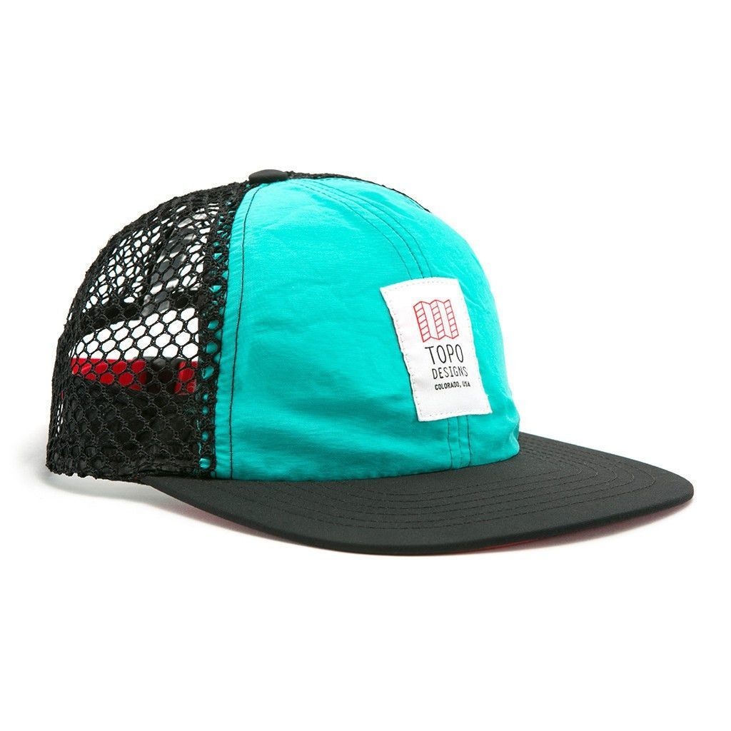 Topo Designs Nylon Mesh Back Hat  ae84353595cc