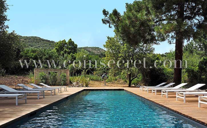 Villa contemporaine avec piscine chauffée à Pinarello près de Porto - location vacances provence avec piscine