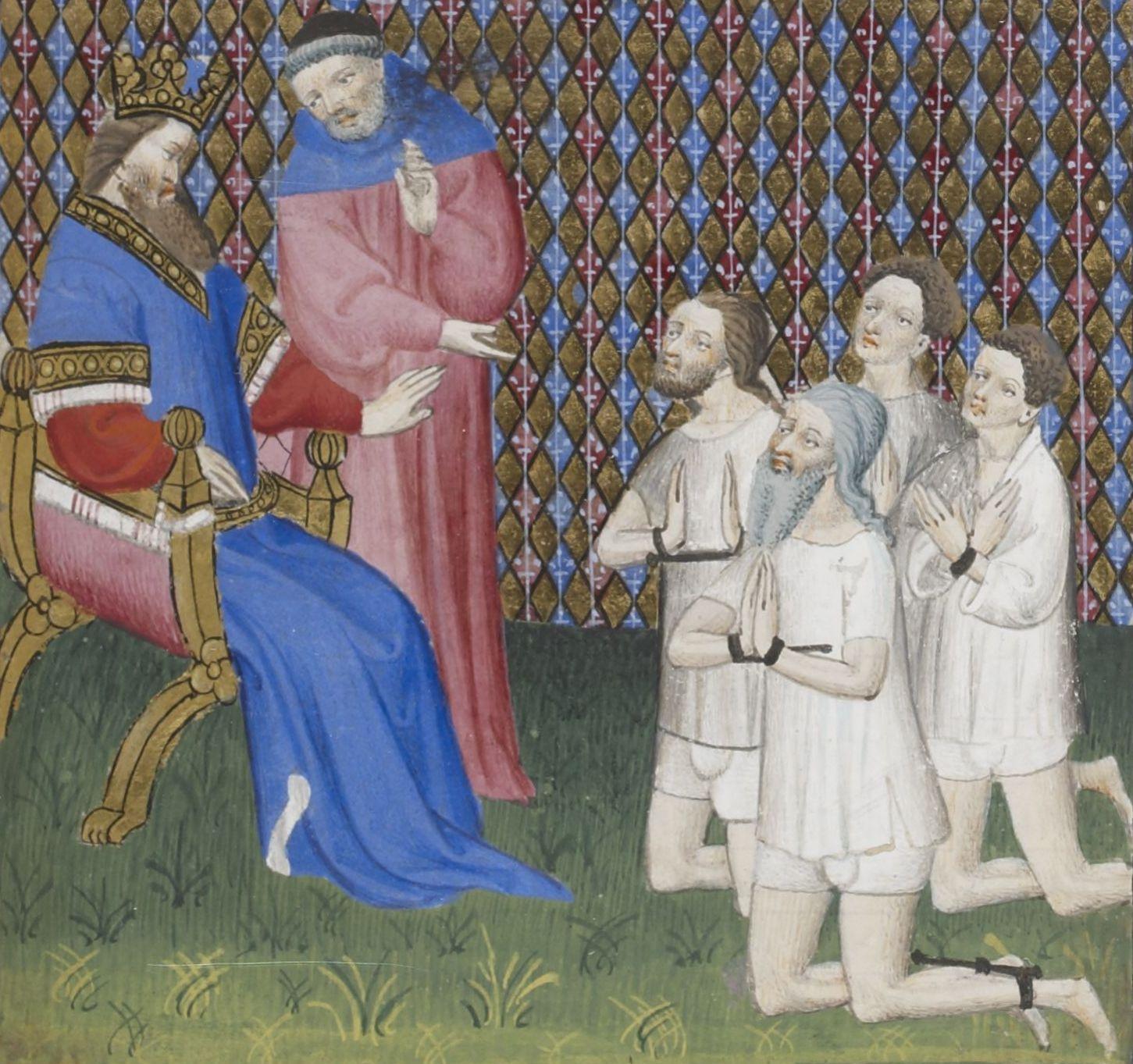 Les Princes Doivent Estre Piteux Et Misericors Le Livre De Bonnes Mœurs 1400 1410 Bnf Francais 1023 F 43r L Bibliotheque Nationale De France Legrand Bnf