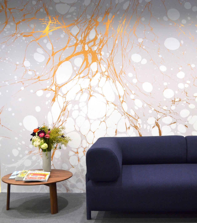 Hallway wallpaper or paint  Calico Wallpapers  Living room  Pinterest  Wallpaper Living