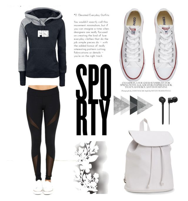 """""""Untitled #153"""" by sadikovicadela ❤ liked on Polyvore featuring Dance & Marvel, Converse, Aéropostale and Élitis"""