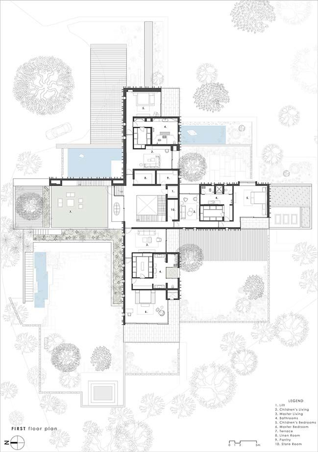 The House Of Secret Gardens By Spasm Design Architects Architectural Floor Plans Architect Design Floor Plan Layout