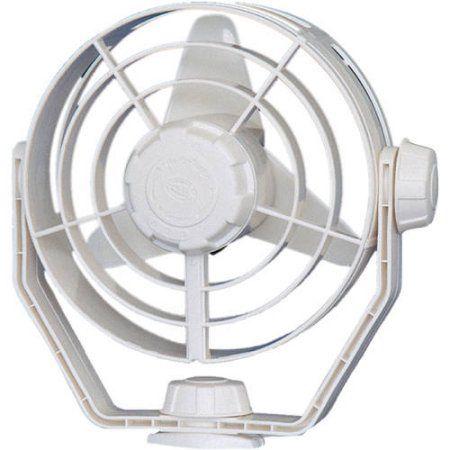 Hella 12V Two Speed Turbo Fan, White