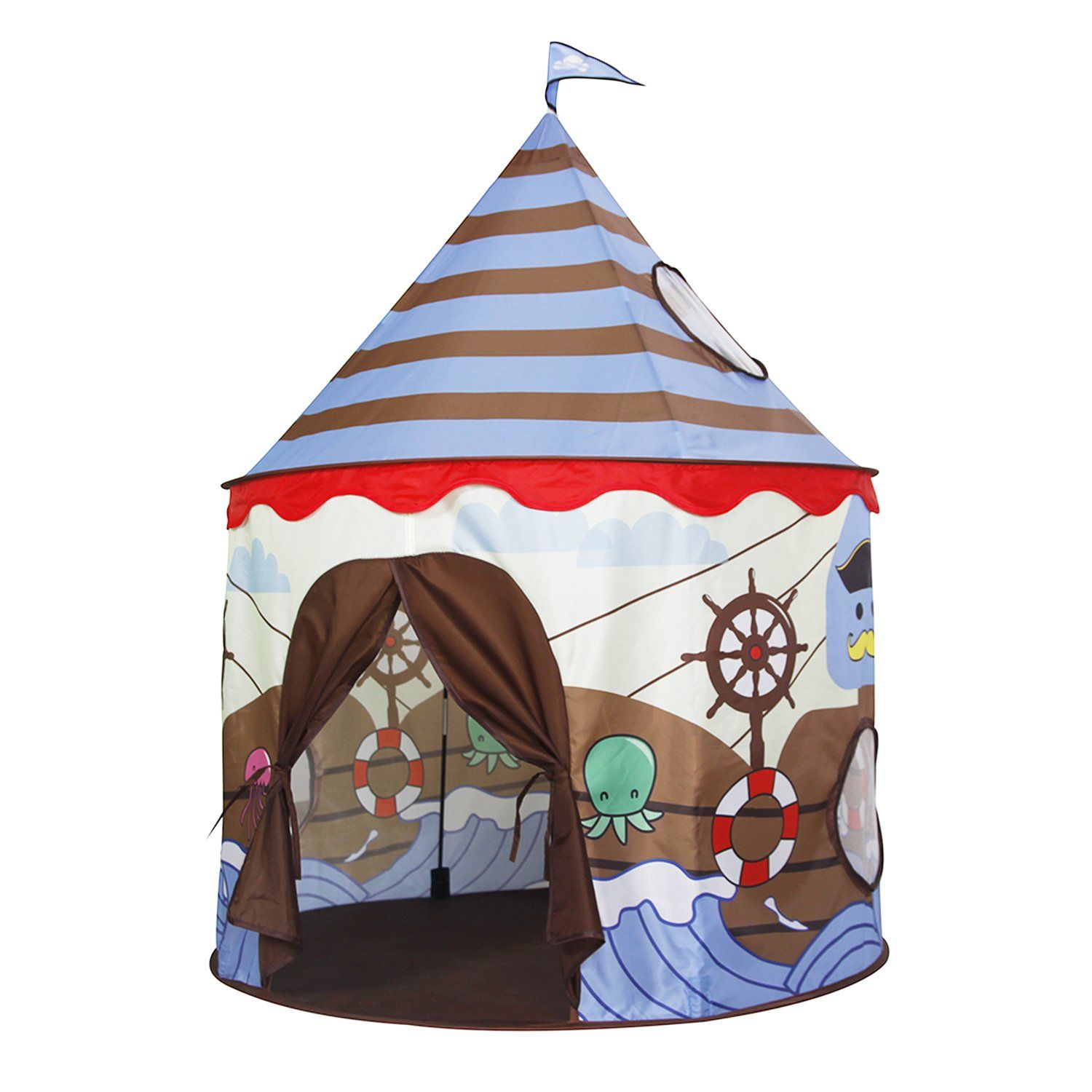 Homfu Play Tent For Kids Castle Playhouse For Children ...