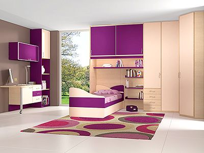 1000 images about dco chambre on pinterest - Chambre Mauve Fille