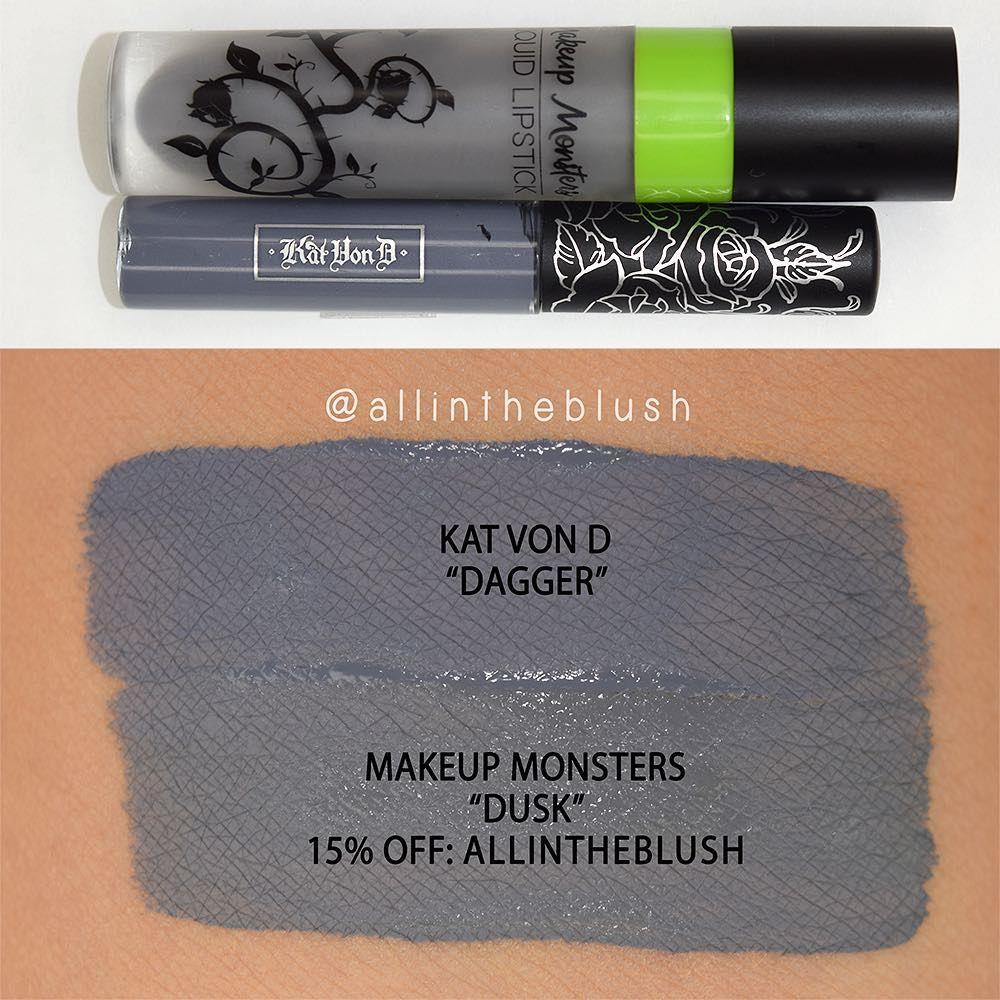 "Kat Von D ""Dagger"" Dupe Makeup Monsters ""Dusk""! Use code"