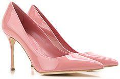 ecc70cb4d9 Sergio Rossi   Mulher   Sapatos   Couro   Clásicos   Sociais   Sergio Rossi Sapatos  Femininos