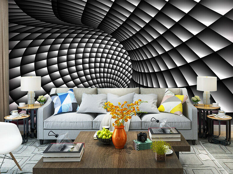 3d Abstract Black And White Swirl Living Room Wallpaper Painting Wall Murals Price Living Room 3d Design Wallpaper Living Room Living Room Wallpaper Murals