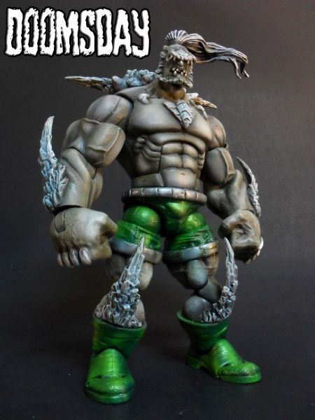Doomsday Dc Universe Custom Action Figure Custom Action