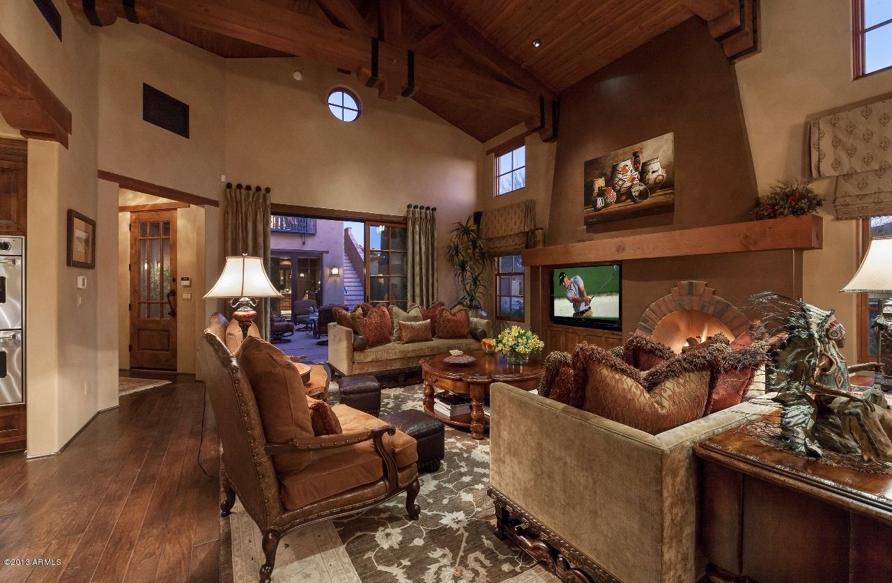 Hacienda Style Living Room