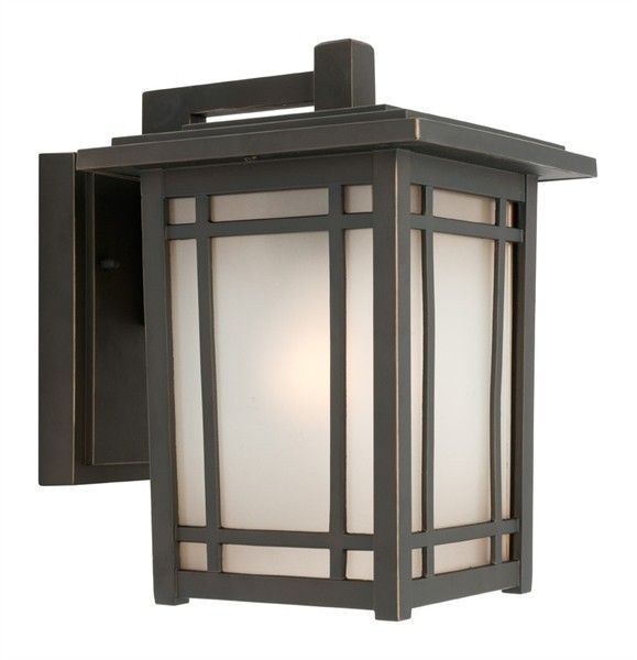 sierra large oil rubbed bronze exterior wall light ip43 sensor