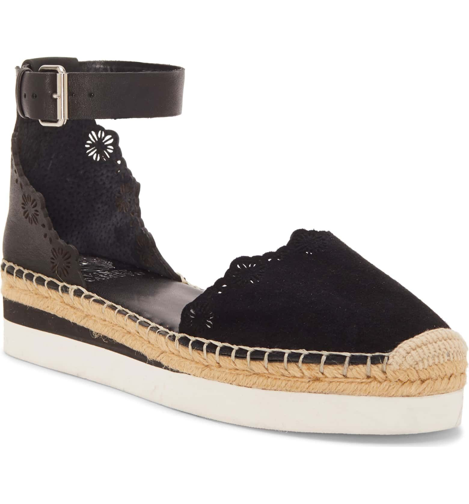 78c067a2e64 Vince Camuto Breshan Ankle Strap Espadrille Wedge (Women ...