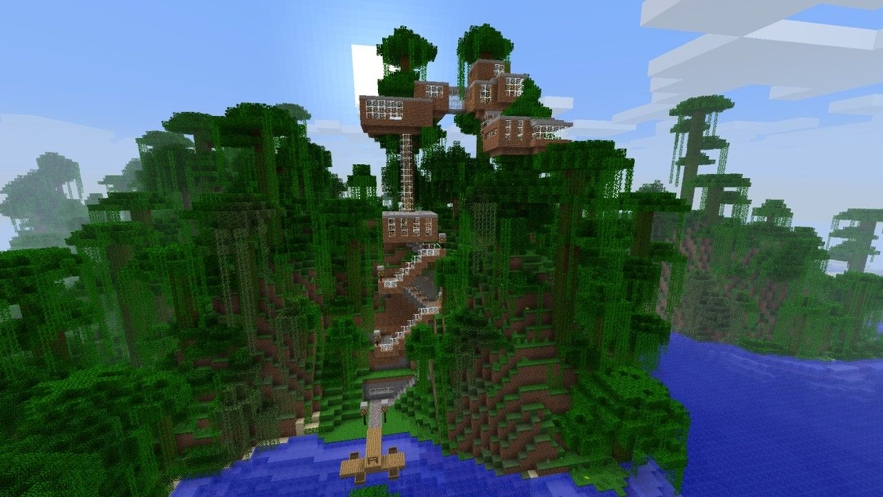 minecraft-treehouse-blueprintsviewing-gallery-for ...