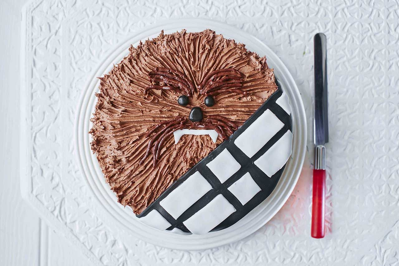 Star Wars Chewbacca Cake Tesco Online Cakes And Bakes Pinterest