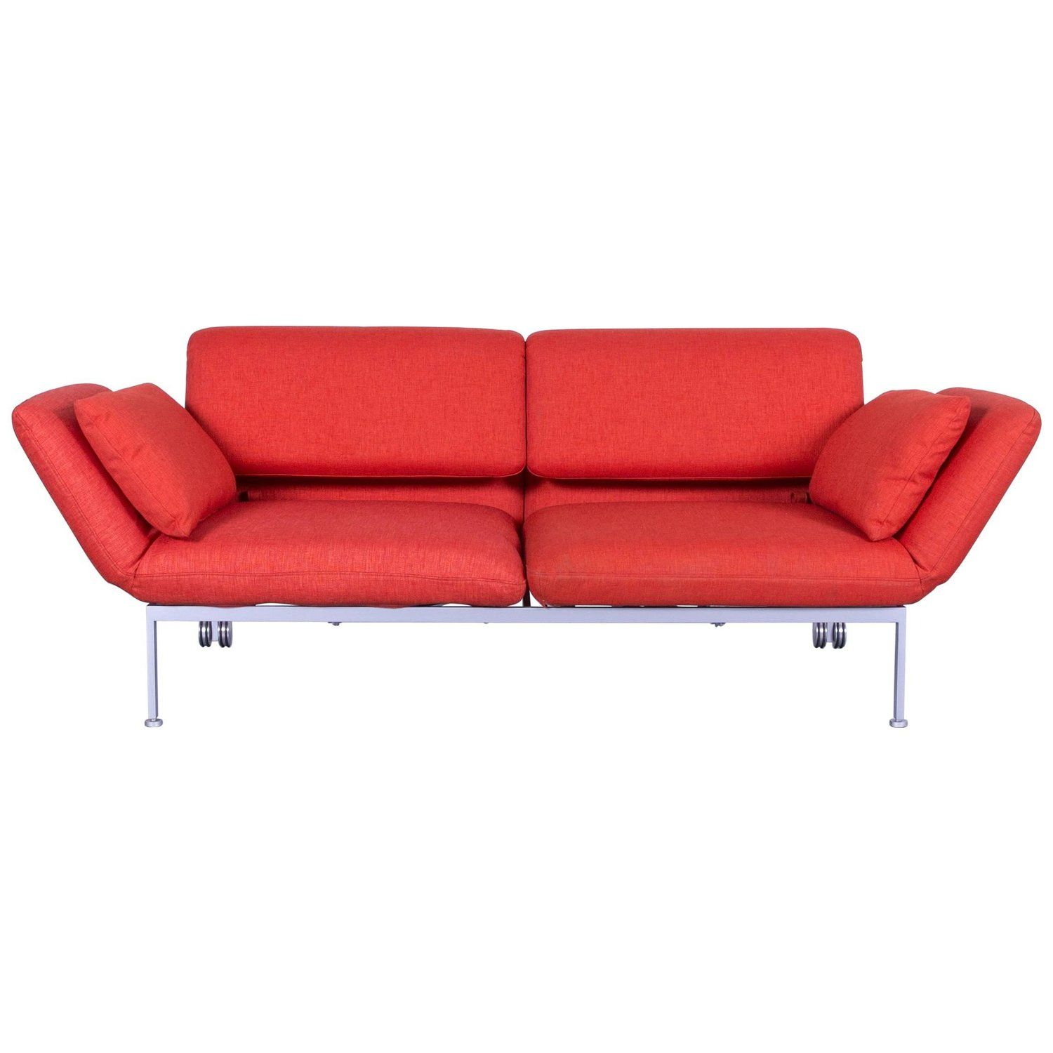Sofa Bed For Sale Regina Brühl And Sippold Roro Designer Bed Sofa In Red Orange Fabric With