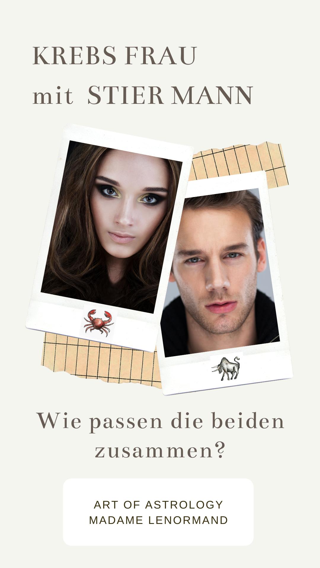 Stier-Mann & Krebs-Frau Liebe | Stier mann, Stier