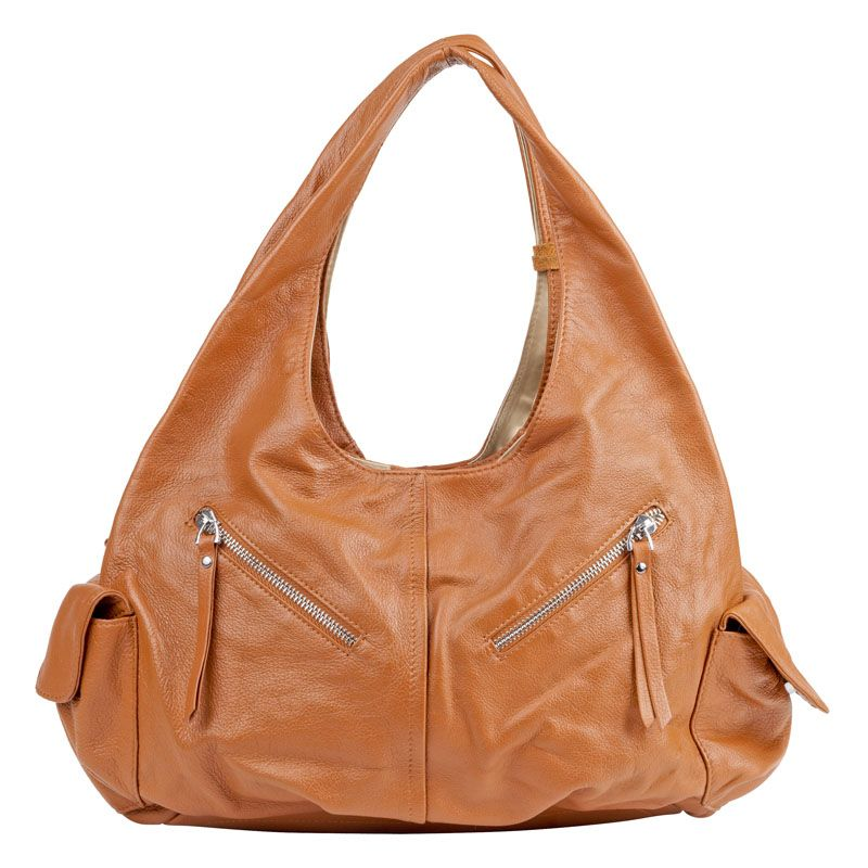 Davina Leather Hobo Bag by Donna Bella - FranklinCovey ... 71a8623f384a4