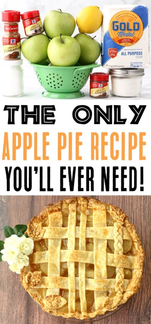 Easy Apple Pie Recipe From Scratch! {Best Homemade Pie} - The Frugal Girls