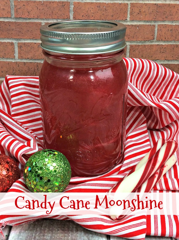 Candy Cane Moonshine Recipe – Mom Knows It All – From Val's Kitchen
