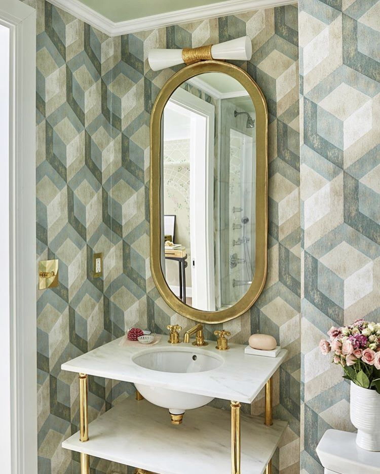 Wallpaper from Brewster Home Wallcoverings #wallpaperideas