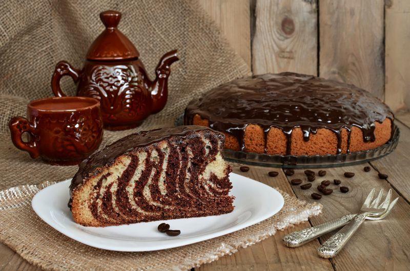 Пирог-торт «Зебра»: 8 простых рецептов | Десерты, Идеи для ...