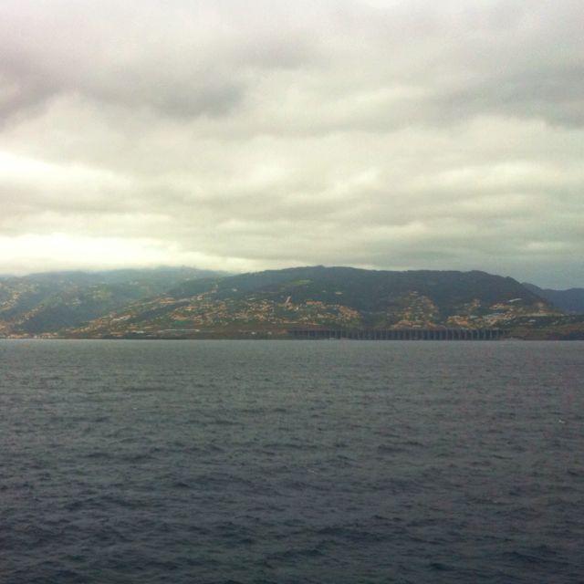 Santa Cruz visto do Mar..