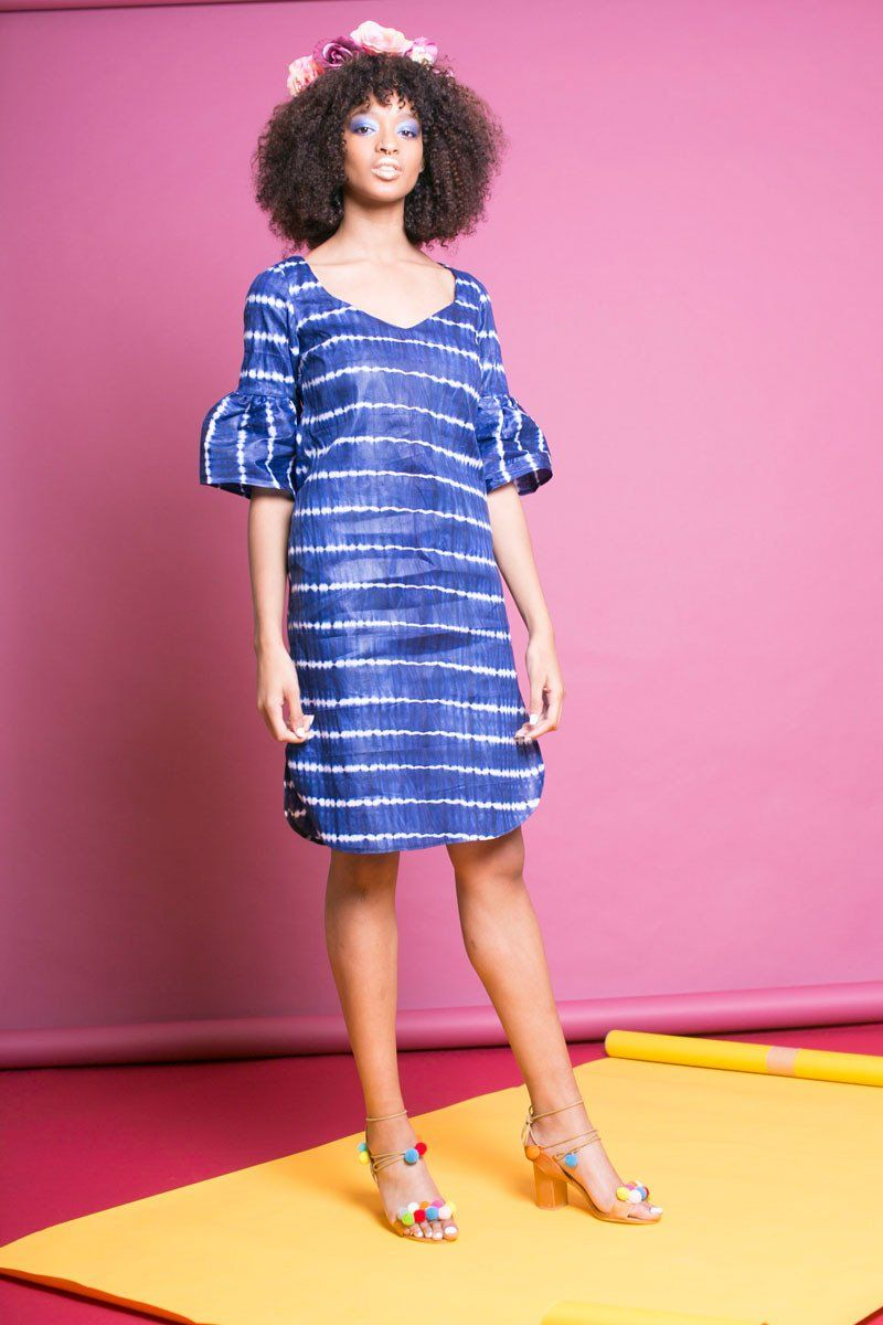 Haba batik dress batik dress cotton and fashion