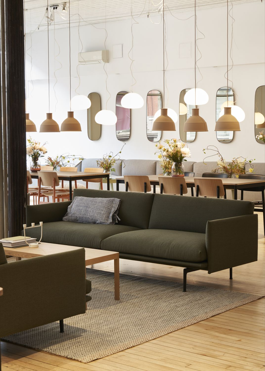 Muuto Sofa Outline Sofa Designed By Anderssen Voll For Muuto In A
